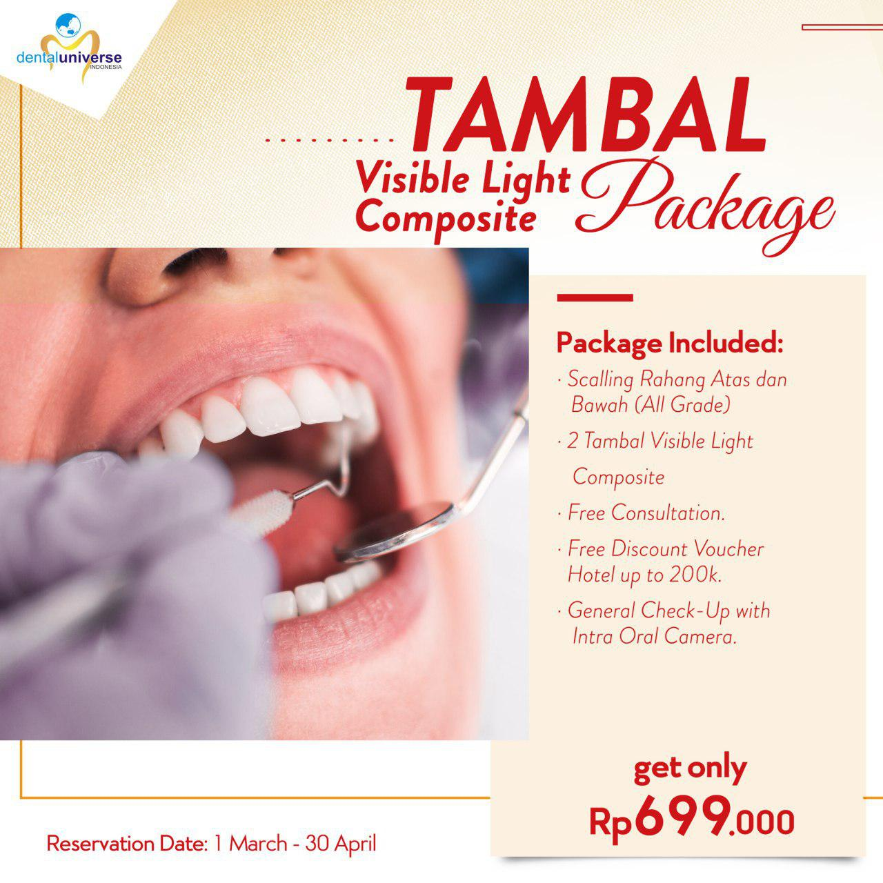 Promo Tambal Gigi Visible Light Composite Package 2c8f1ae3b2